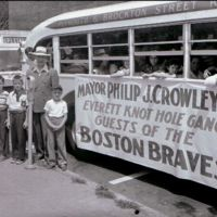 Braves day bus, August 5, 1950
